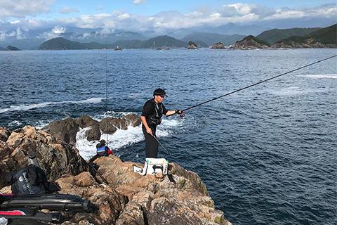 磯釣り風景①
