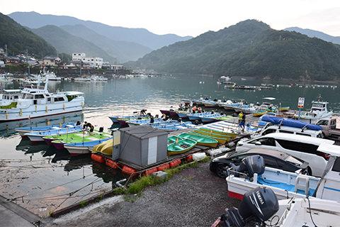 カセ・ボート釣り乗船場